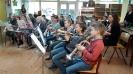 Muziekles op school 2016